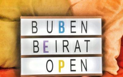 Bubenbeirat 2021 – Anmeldungen offen