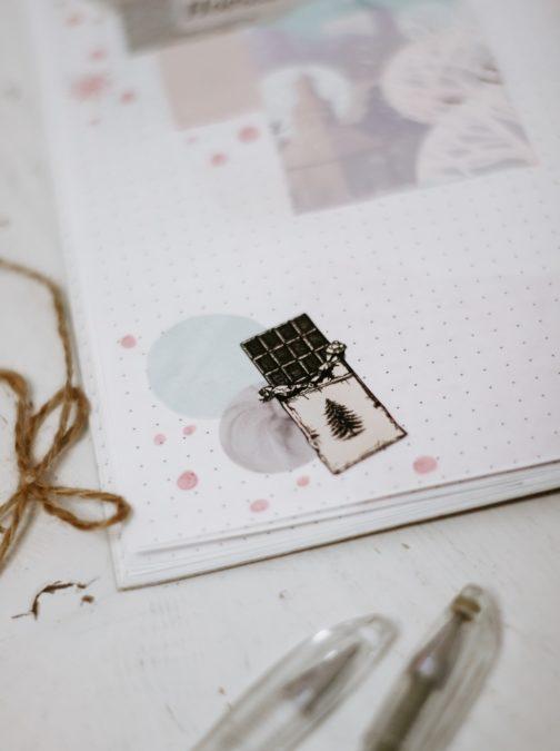 Mädchen gestalten… einen Kalender!